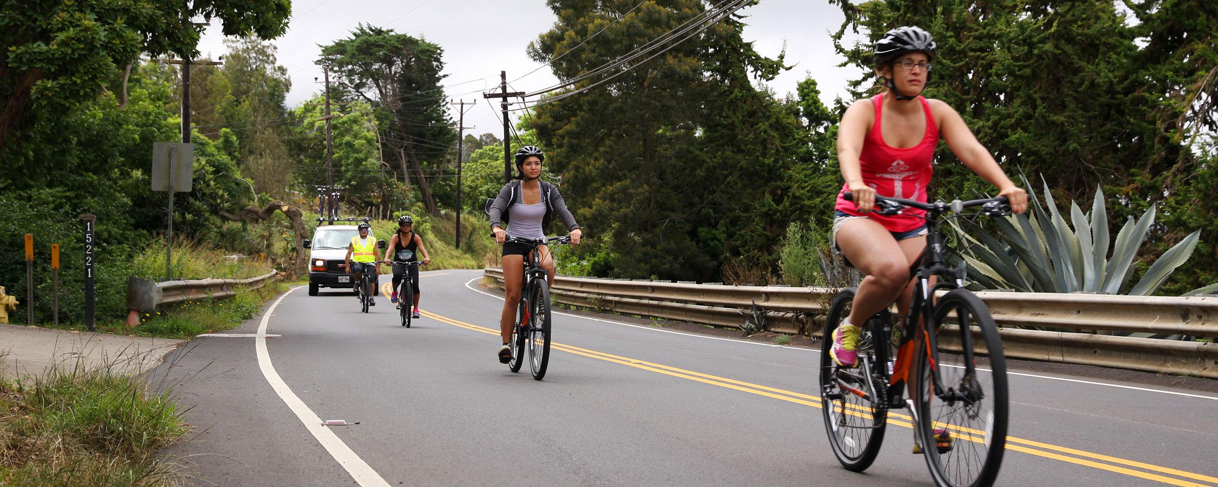 Maui Bike Ride