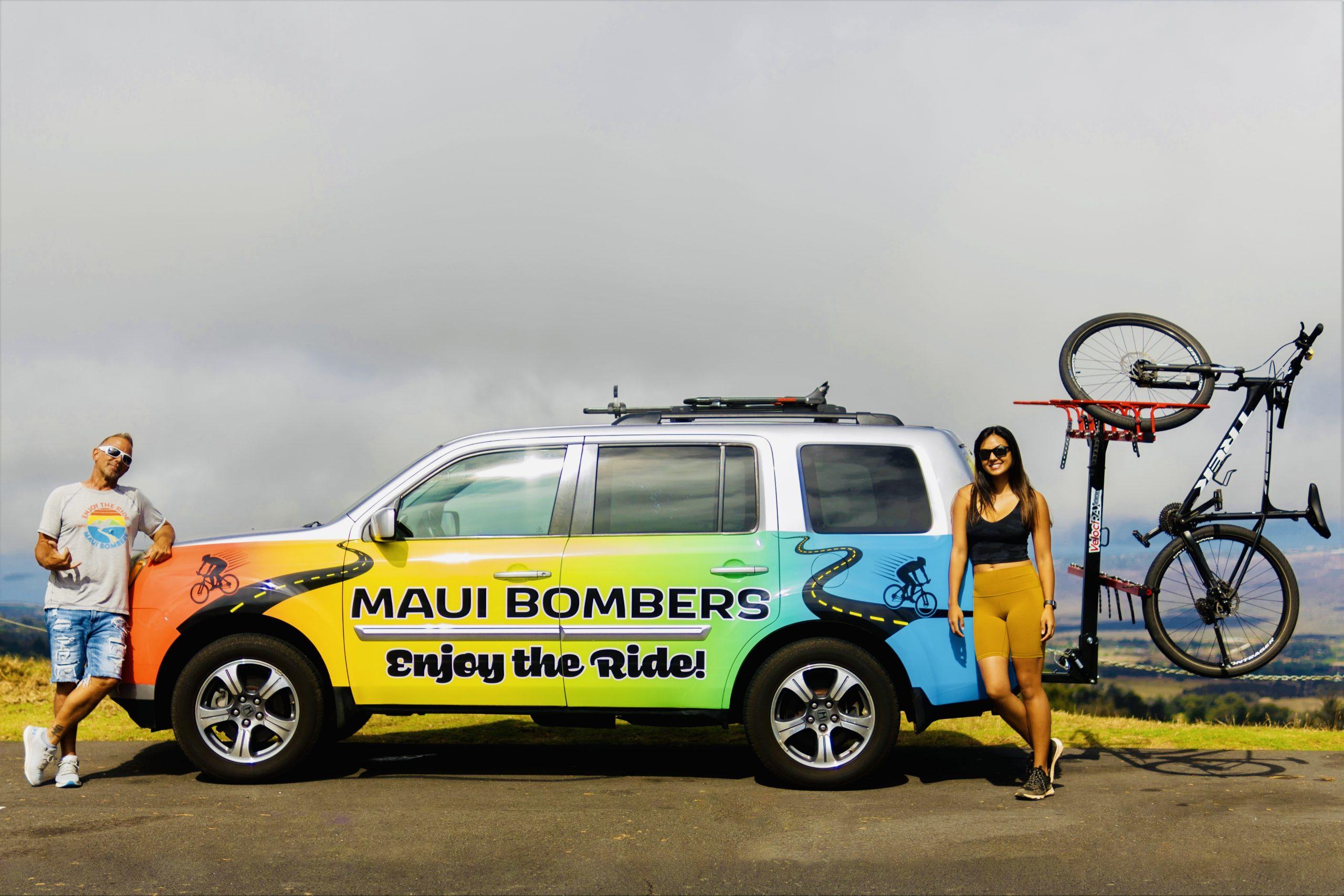 Maui Bombers is the #1 Rated Maui Bike Tour